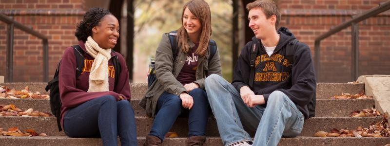three U of M students